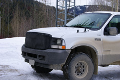 COMPROF VHF Antenna on Ford Truck